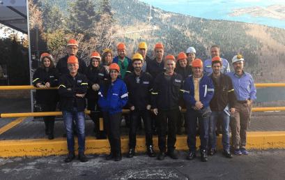 Επίσκεψη φοιτητών ΠΜΣ στην εταιρεία ΕΛΒΑΛ – ΕΡΓΟΣΤΑΣΙΟ ΟΙΝΟΦΥΤΩΝ
