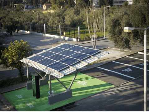 Δελτίο Τύπου — Ξεκίνησε η υλοποίηση του Ηλιακού Σταθμού Φόρτισης Ηλεκτροκίνητων Οχημάτων στο νησί της Τήλου