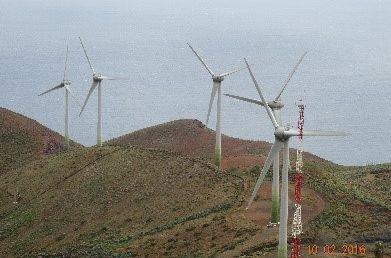 """Επίσκεψη της ερευνητικής ομάδας του έργου """"TILOS""""  στο νησί El-Hierro της Ισπανίας"""