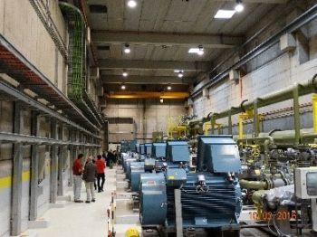 Το εσωτερικό του αναστρέψιμου υδροηλεκτρικού σταθμού