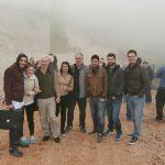 Η Ομάδα του ΠΜΣ στο Αιολικό Πάρκο Κιθαιρώνα