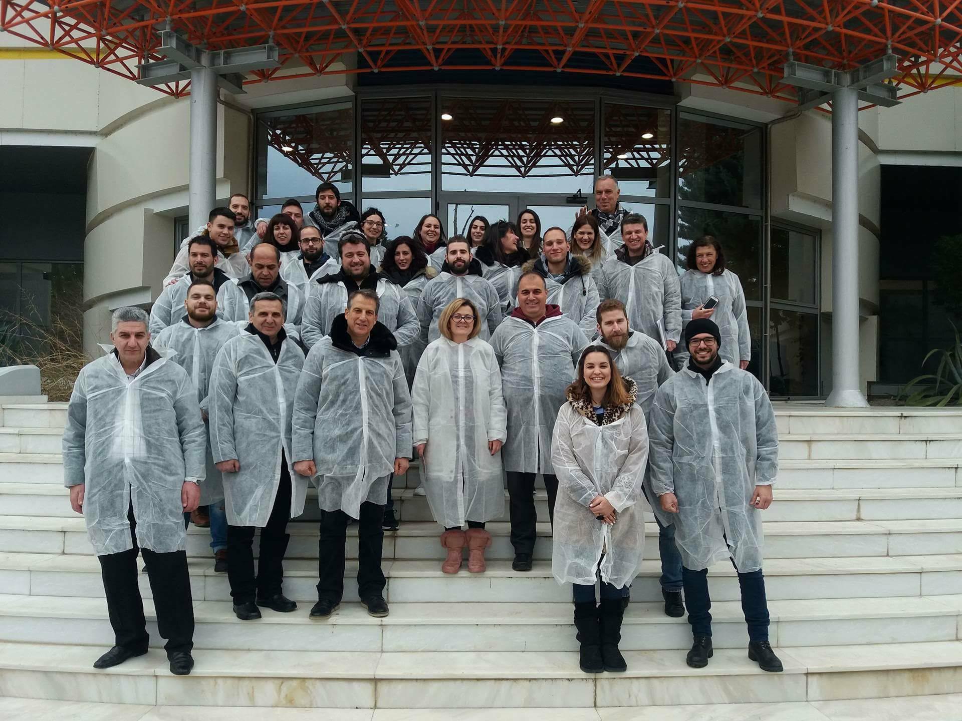 Επίσκεψη φοιτητών Προγράμματος Μεταπτυχιακών Σπουδών στην Εταιρεία Sunlight & Sunlight Recycling