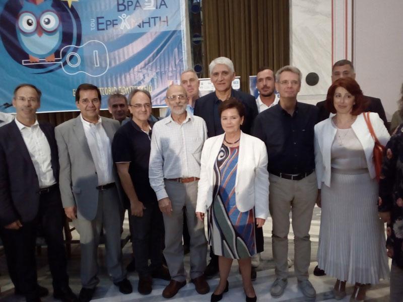 Επιτυχημένη συμμετοχή Ερευνητικών Ομάδων ΠAΔΑ στη Βραδιά Ερευνητή 2019